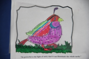 quail colouring in